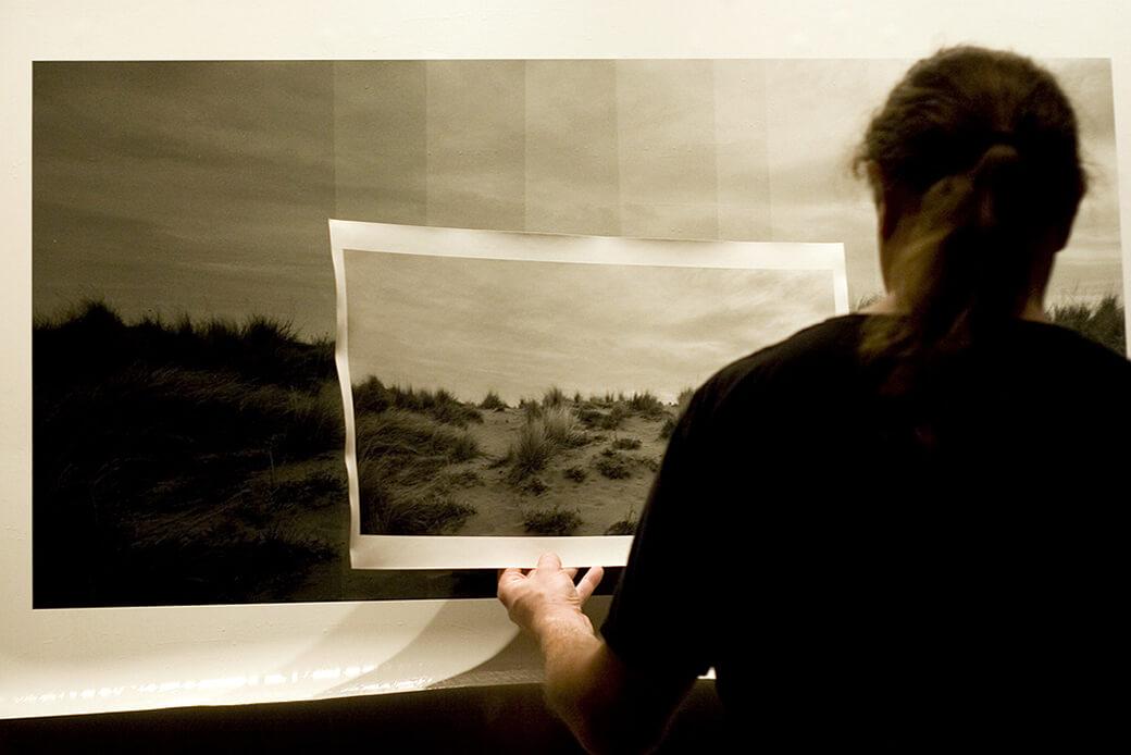 La stampa: verso uno stile personale - Andrea Calabresi al lavoro